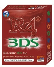 R4i-sdhc red package,R4i sdhc 3DS for 3DS/NDS/NDSL/NDSi V1.45[Free-Shipping]