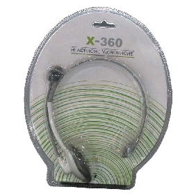 XBOX 360 earphone with mic (A)
